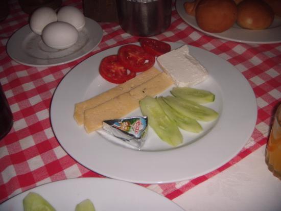 Pharaoh Egypt Hotel : das ist unser tägliches frühstück