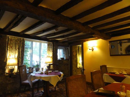 Collaven Manor Hotel: The breakfast room
