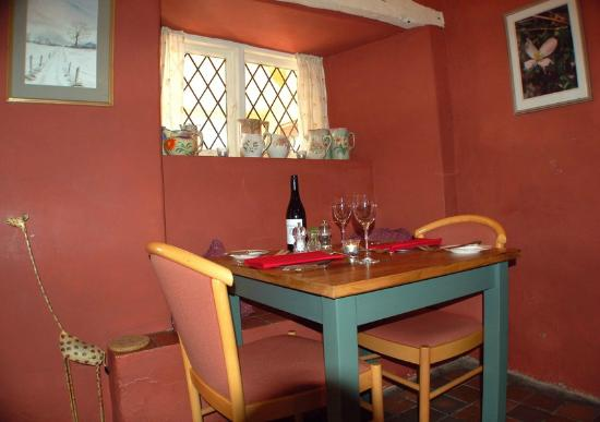 Llanfair Waterdine, UK: Restaurant