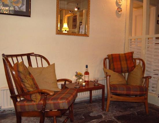 Llanfair Waterdine, UK: Lounge