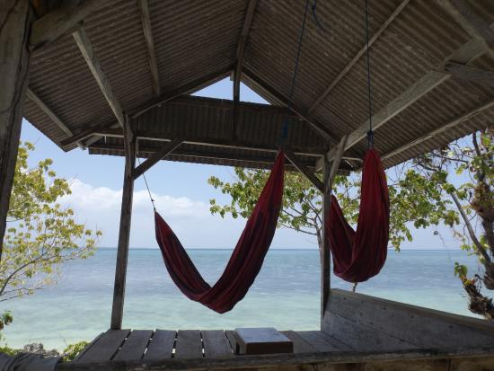 Hoga Island, Indonesia: Hammocks