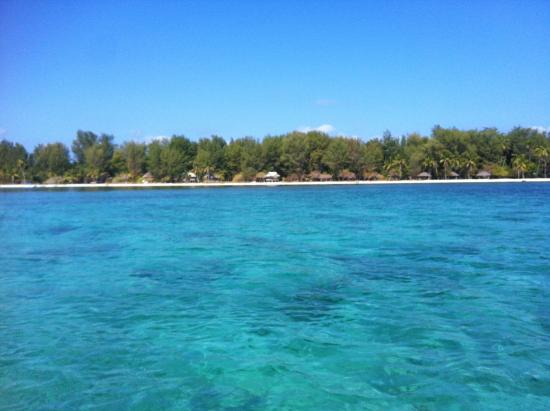 Hoga Island, Indonesia: Boat ride to dive site