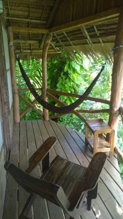 Colonia, Negara Federasi Mikronesia: Hammock on the balcony