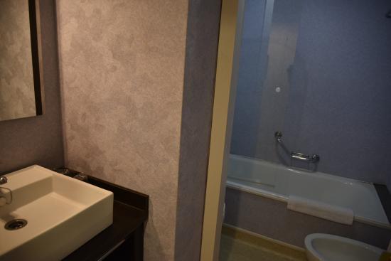 Hotel Oroel: バスルーム