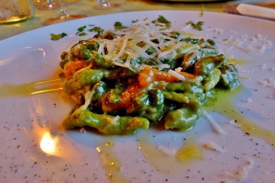 Montalcinello, İtalya: Frische Pasta