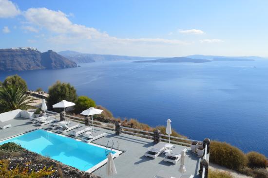 Oia Suites: piscina