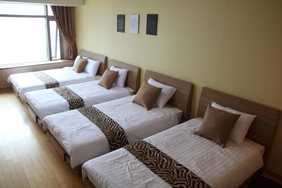 Incheon Airport Guesthouse: 패밀리룸
