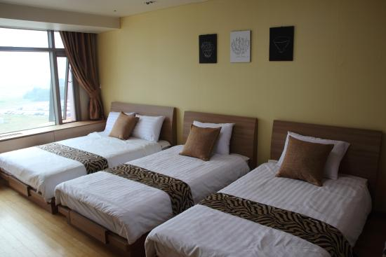 Incheon Airport Guesthouse: 트리플룸