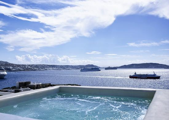 Rocabella Mykonos Art Hotel & SPA: Panoramic Suite with Outdoor Plunge Pool