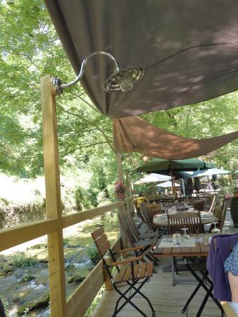 Ombleze, Frankreich: La terrasse