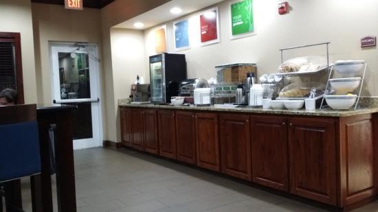Comfort Suites Columbia: Breakfast area