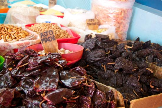 Mexican Food Tours: Dried chiles