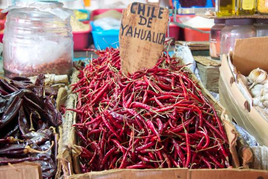 Mexican Food Tours : Chiles
