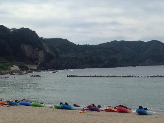 Takeno Coast : シーカヤックは初心者でも楽しかった!