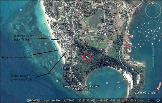 Ambatoloaka, Madagaskar: vue satellite