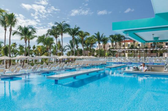 Hotel Riu Playacar: Pool Bar