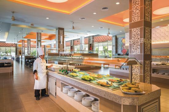Hotel Riu Playacar: Restaurant