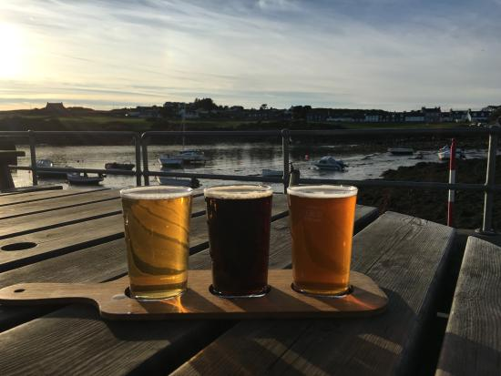 Whithorn, UK: A few ales at the local pub