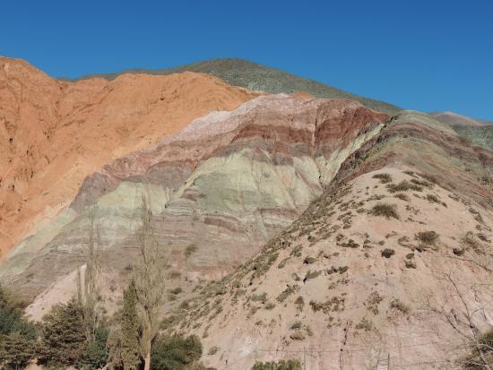 Purmamarca, Argentinië: Cerro de los 7 Colores