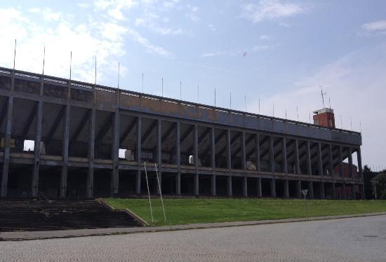 Hostel Strahov: Przy samym hostelu znajduje się Stadion Strachov