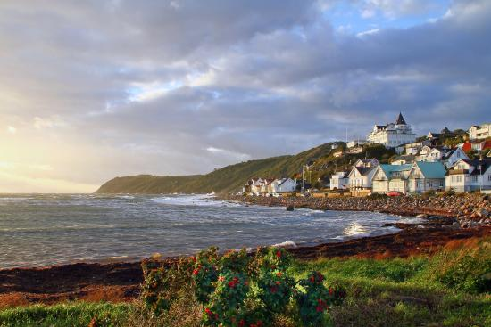 Skane County, Sweden: Picturesque Mölle along the SL5 trail. Photo ©visitskane.com