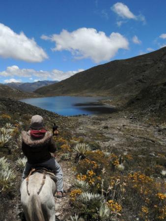 Estancia La Canada Escaguey: Paseo a las Lagunas del Páramo