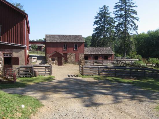 Fosterfields Living Historical Farm: Farm Buildings