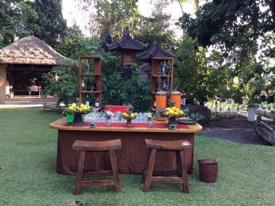 Plataran Canggu Resort & Spa: Cocktail Booth