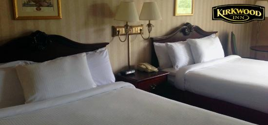 Kirkwood Inn : Our rooms are clean and modern
