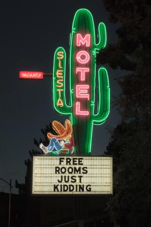 Siesta Motel: The Sign That Welcomed Us To Durango