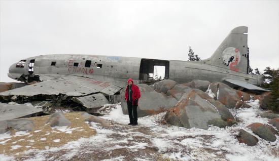 Miss Piggy Plane Wreck