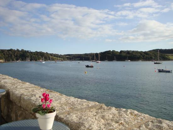 St Mawes, UK: View from Terrace