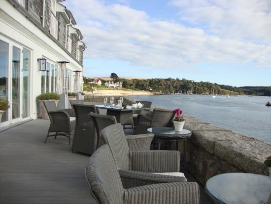 St Mawes, UK: Terrace Seating