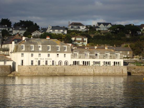 St Mawes, UK: View from harbour