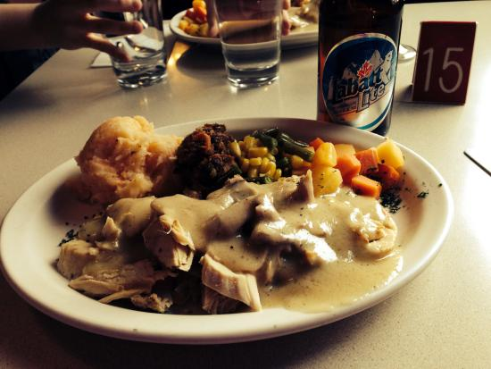 Gypsy's Bakery and Restaurant : Thanksgiving dinner at Gypsy's