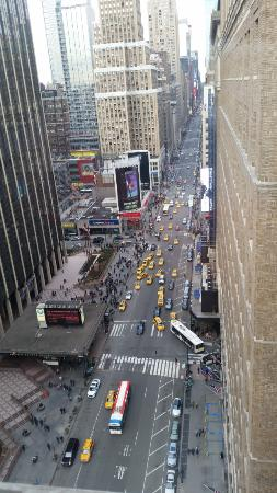 Madison square garden from the hotel window Picture of Stewart