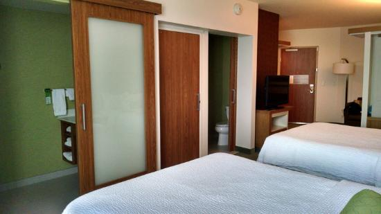 SpringHill Suites Pittsburgh Latrobe: Doors to the two rooms for shower and toilet with closet & Doors to the two rooms for shower and toilet with closet in ... Pezcame.Com