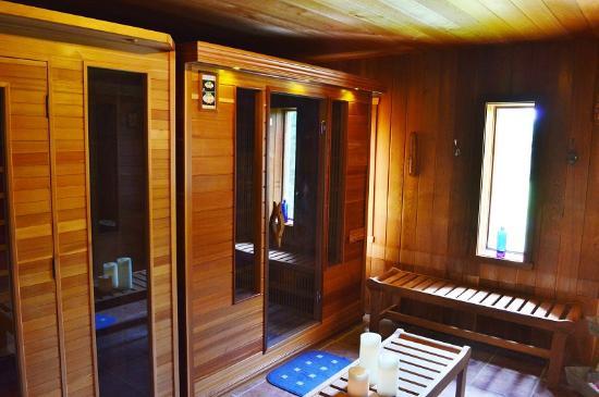 St-Ignace-de-Stanbridge, แคนาดา: Sauna intérieur