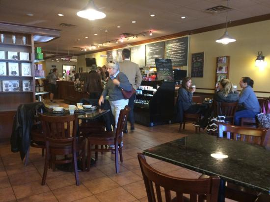 Peaberry's Cafe: Cozy 'n good!