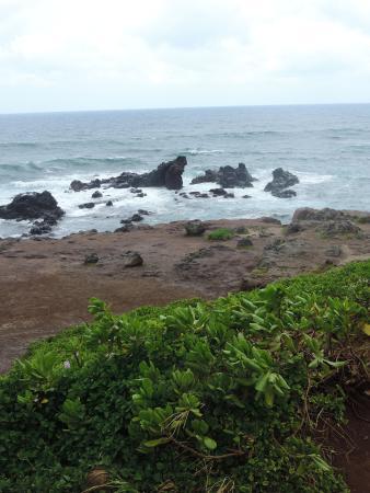Paia, Hawái: Ho'okipa Beach Overlook