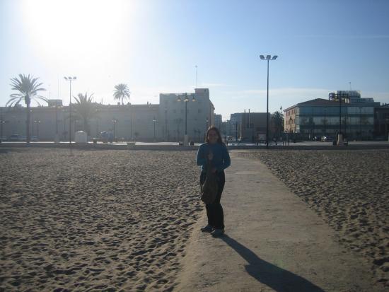 Playa de la malvarrosa fotograf a de playa de la - Hoteles en la playa de la malvarrosa ...