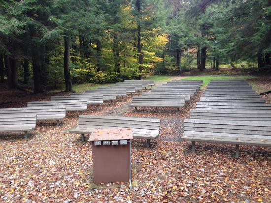 Clarendon, PA: Amphitheatre, view from stage