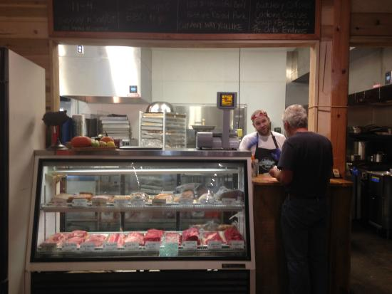 Fairview, NC: The kitchen & butchery