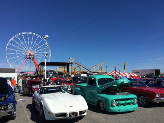 Car Show Rides At OC Boardwalk Picture Of Ocean City Boardwalk - Ocean city car show