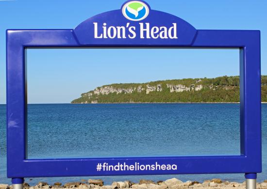 Lion's Head Lighthouse: Can You See the Lion's Head?
