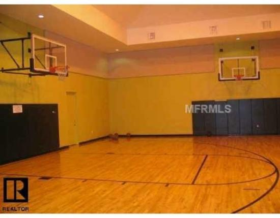grand key large indoor basketball court and workout facility
