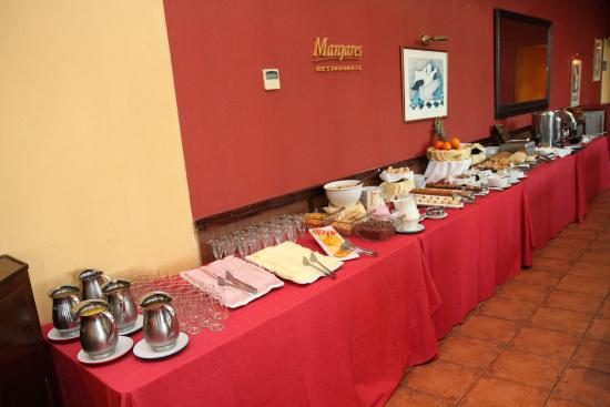 Campana, Argentina: Desayuno buffet continental