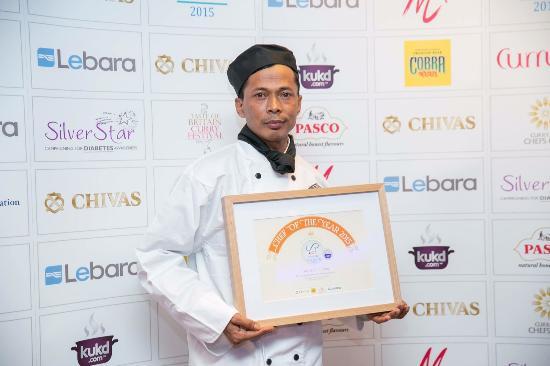 The Lamp: Chef of The Year 2015