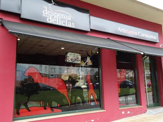Naron, إسبانيا: Carnicería Boutique