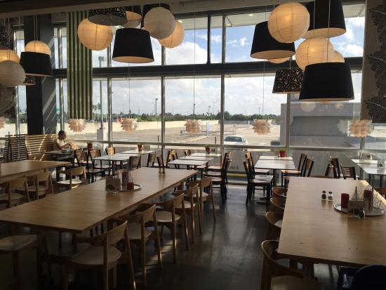 Bild fr n ikea sunrise restaurant swedish for Restaurant ikea miami